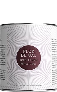 Flor de Sal Aceituna Negra